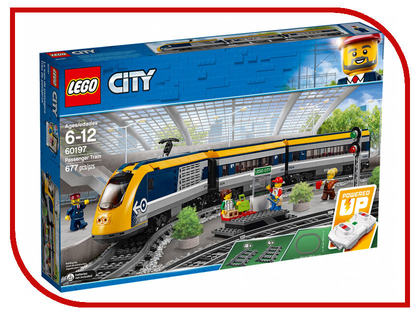 все цены на Конструктор Lego Пассажирский поезд 60197