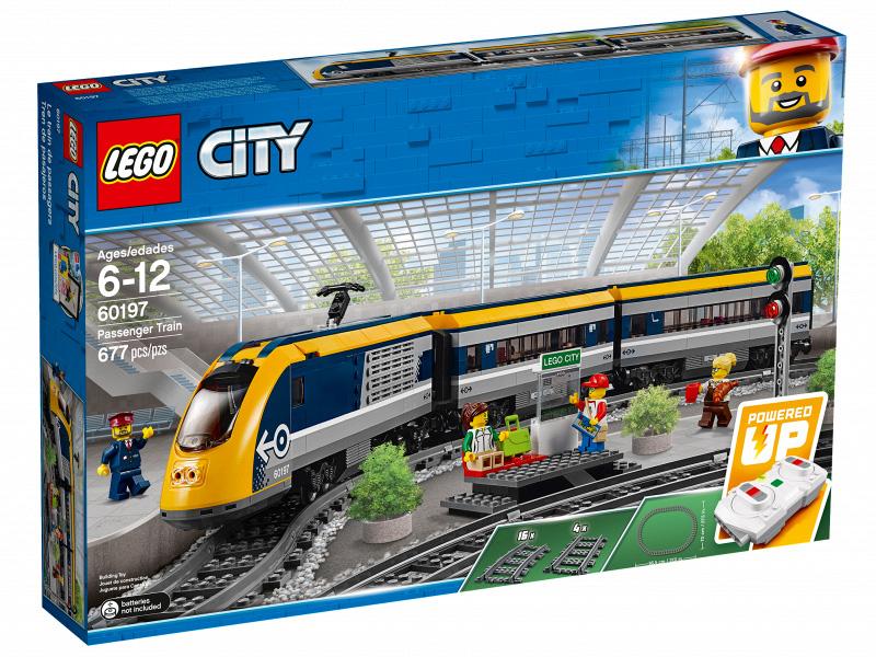 Конструктор Lego Пассажирский поезд 60197