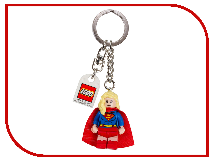 Брелок Lego Супергёл 6144106