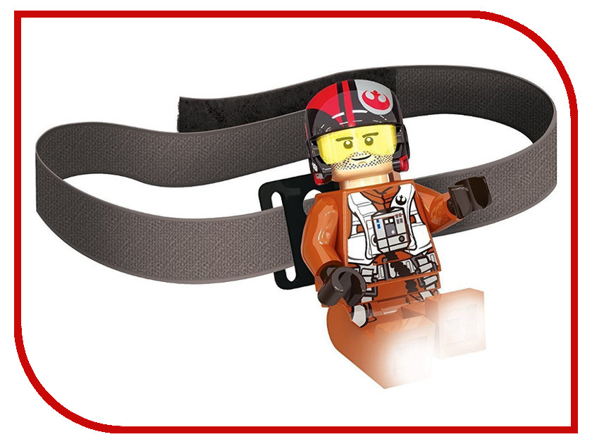Фонарь Lego Star Wars Poe Dameron LGL-HE17 the poe estate