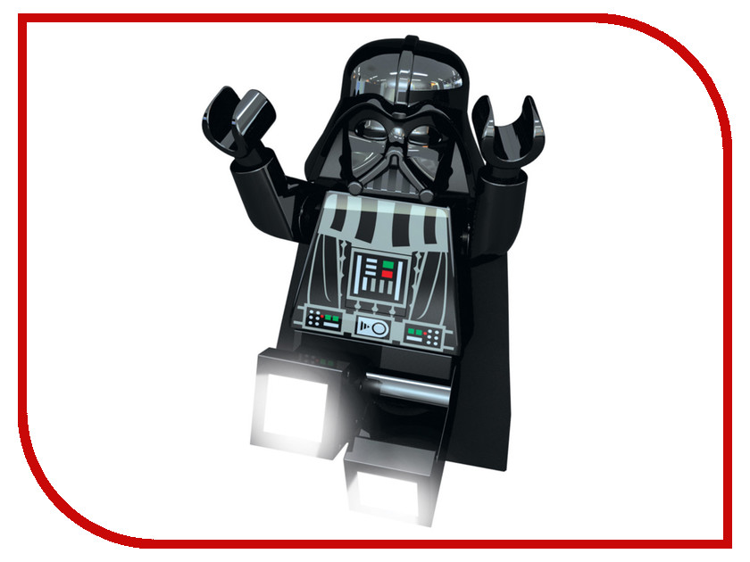 Светильник Lego Star Wars Darth Vader LGL-TO3BT часы наручные lego часы наручные аналоговые lego star wars с минифигурой darth vader на ремешке
