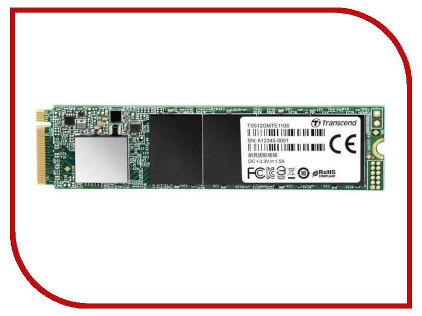 Жесткий диск Transcend TS512GMTE110S линейные направляющие mte 2 sbr12 l1625mm 4 sbr12uu