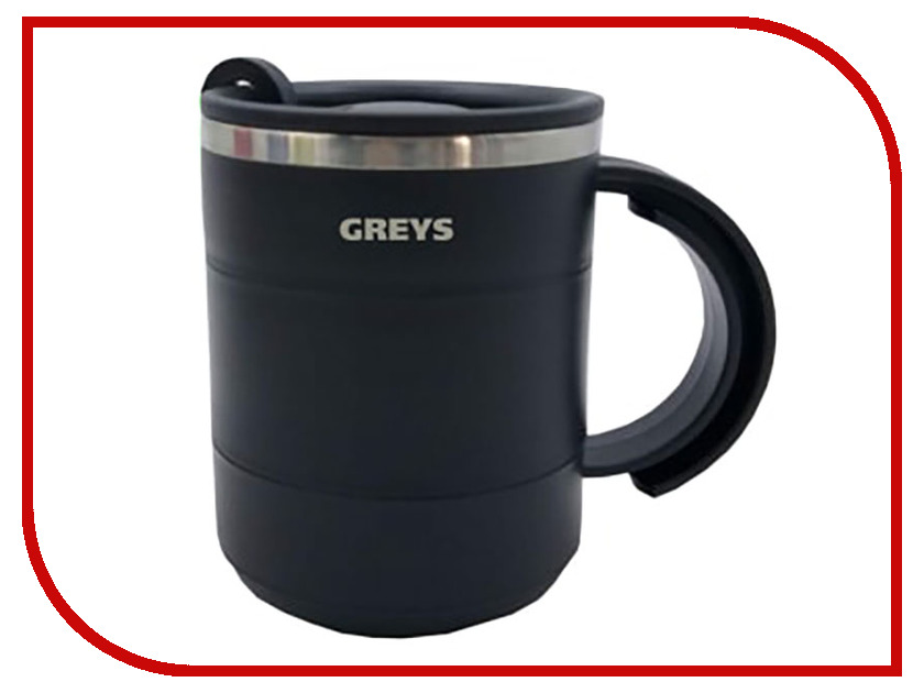 Термокружка Greys QES-005 450ml red house 450ml