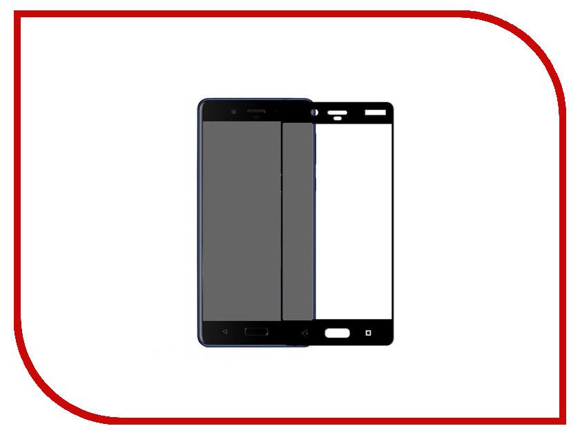 Аксессуар Защитное стекло для Nokia 8 Gecko 2D Fullscreen Black ZS26-GNOK8-2D-BL аксессуар защитное стекло samsung galaxy a5 2017 a520f gecko 2d 0 26mm black zs26 gsga5 2017 2d bl