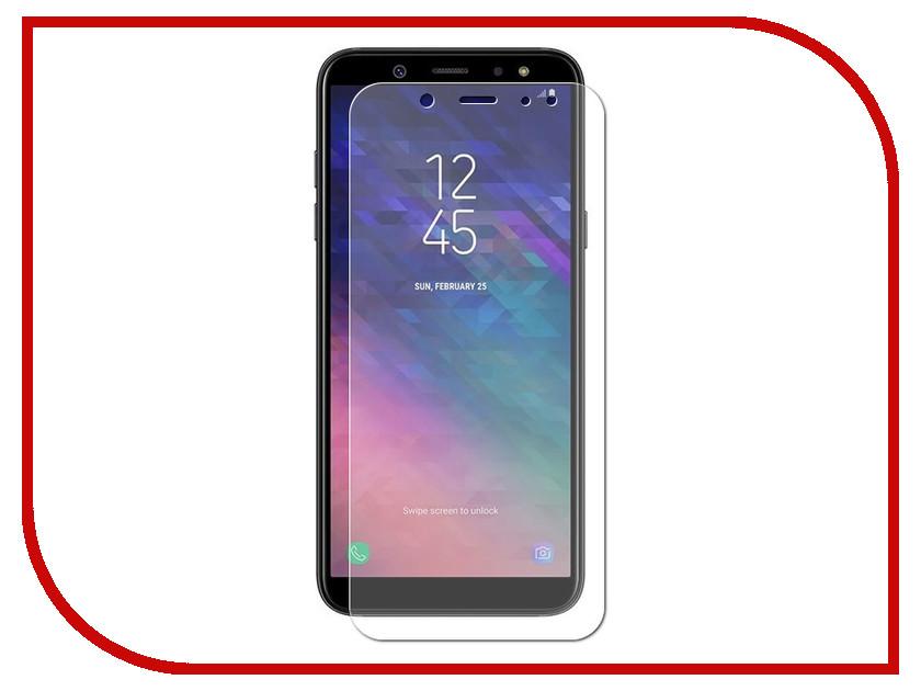 Аксессуар Гибридная защитная плёнка для Samsung Galaxy A6 Red Line УТ000015411 аксессуар чехол для samsung galaxy a6 red line unit black