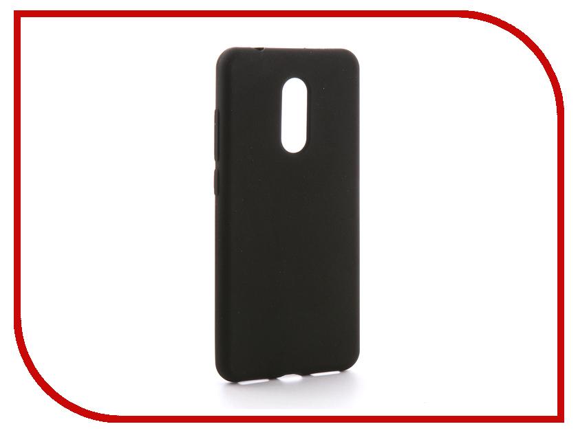 Аксессуар Чехол Xiaomi Redmi 5 Gecko Silicone Black S-GESKA-XR5-BL аксессуар чехол xiaomi redmi 4 onext silicone transparent 70500