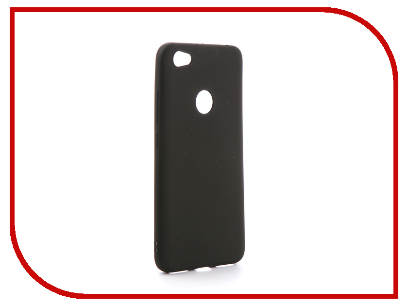 Аксессуар Чехол Xiaomi Redmi Note 5A Prime Gecko Silicone Black S-GESKA-XRNOTE5A-BL цена
