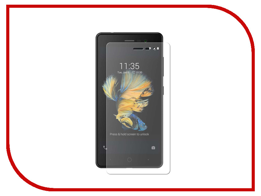Аксессуар Защитное стекло для ZTE Blade A520C Gecko ZS26-GZTEA520-c смартфон zte blade a520c black