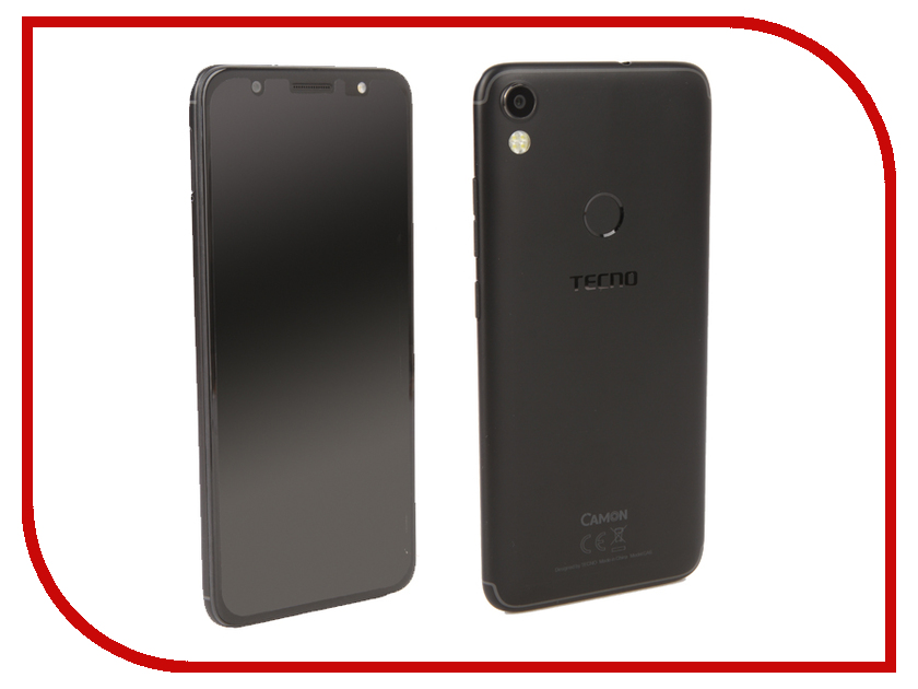 Сотовый телефон Tecno Camon CA6 Midnight Black сотовый
