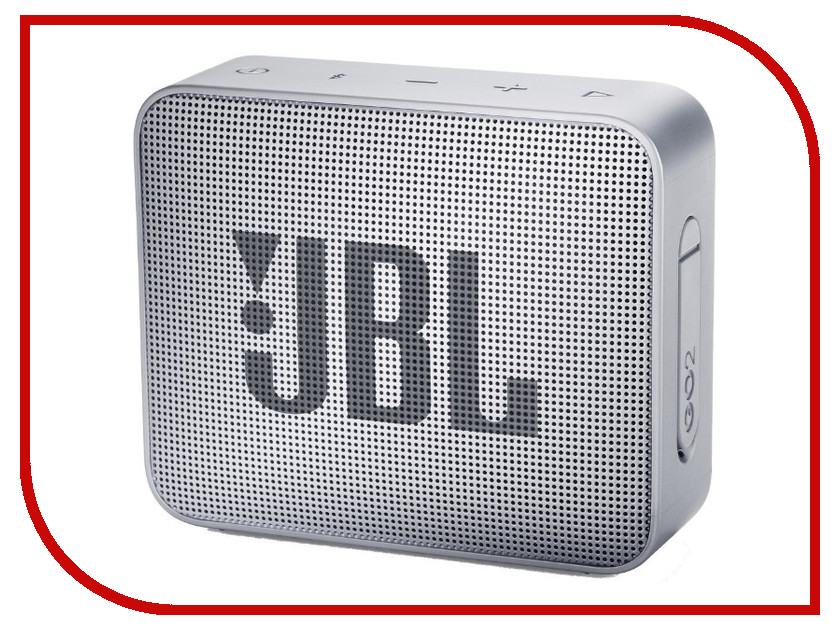 Колонка JBL GO 2 Ash Grey