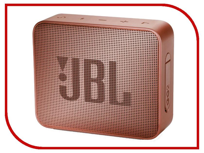 купить Колонка JBL GO 2 Sunkissed Cinnamon