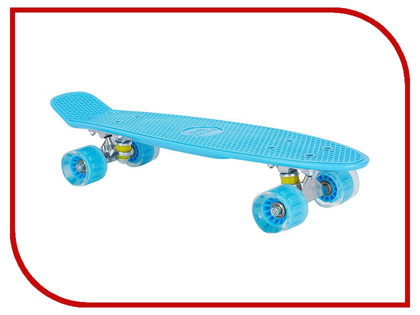 Скейт Leader Kids S-2206E Blue GL000228927 leader kids постельное белье собачки 7 пред leader kids бязь розовый