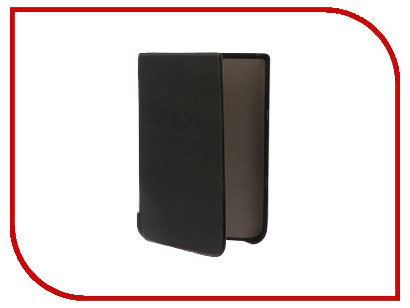 Аксессуар Чехол Pocketbook 740 TehnoRim Slim Black TR-PB740-SL01BL аксессуар чехол for pocketbook 626 tehnorim origami black tr pb626 or01bl