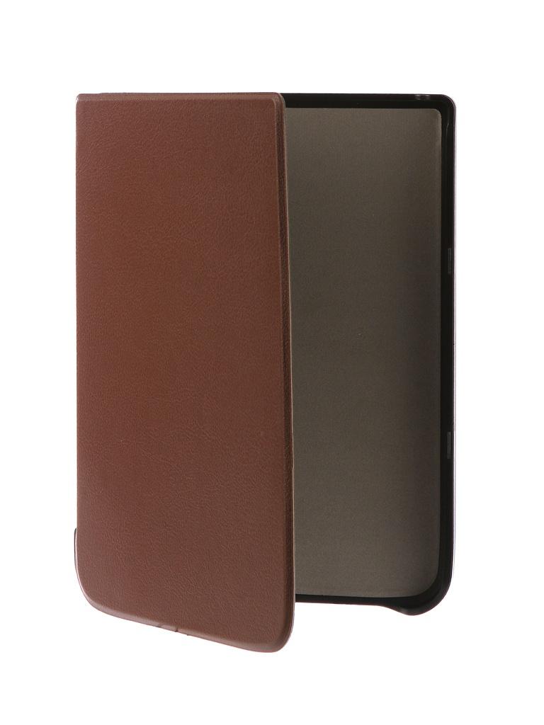 Аксессуар Чехол TehnoRim для Pocketbook 740 Slim Brown TR-PB740-SL01BR аксессуар