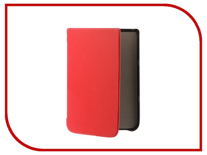 Аксессуар Чехол Pocketbook 740 TehnoRim Slim Red TR-PB740-SL01RD аксессуар чехол for pocketbook 626 tehnorim origami black tr pb626 or01bl