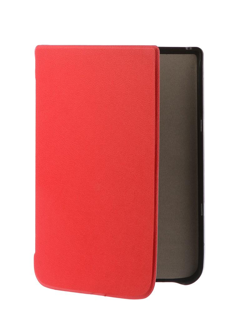 Аксессуар Чехол TehnoRim для Pocketbook 740 Slim Red TR-PB740-SL01RD