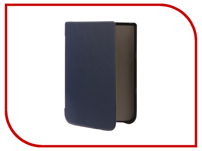 цена на Аксессуар Чехол Pocketbook 740 TehnoRim Slim Dark-Blue TR-PB740-SL01DBLU