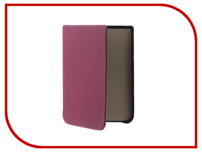цена на Аксессуар Чехол Pocketbook 740 TehnoRim Slim Purple TR-PB740-SL01PR