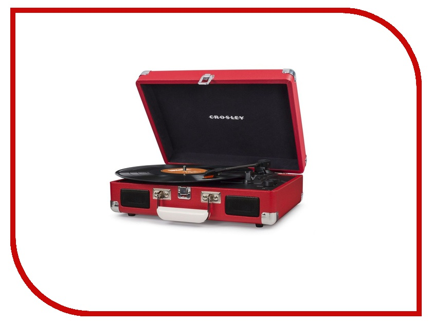 Проигрыватель Crosley Cruiser Deluxe Portable CR8005D-RE crosley portfolio portable