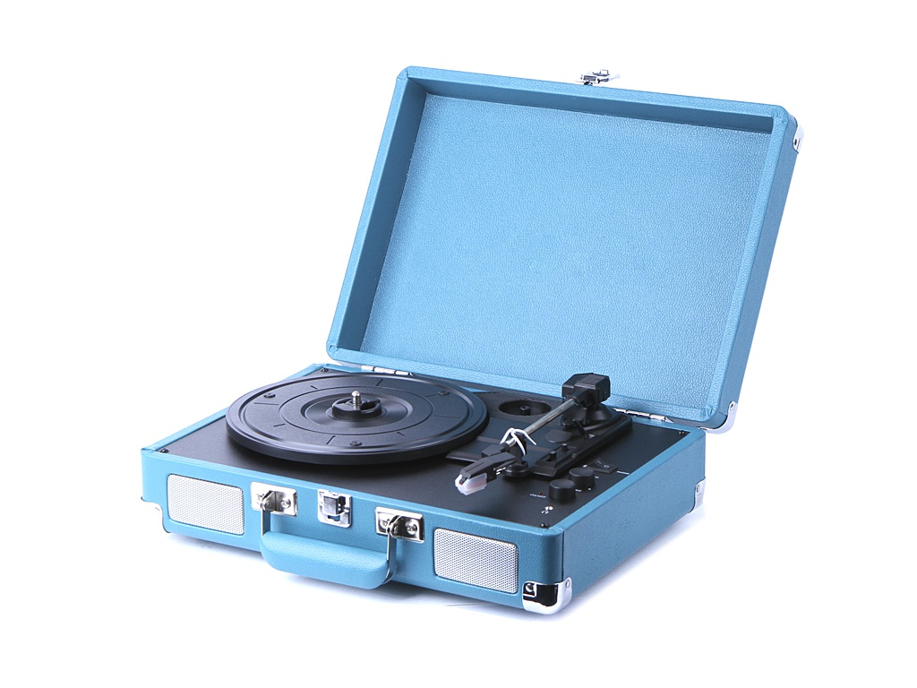 Проигрыватель Crosley Cruiser Deluxe Portable CR8005D-TL
