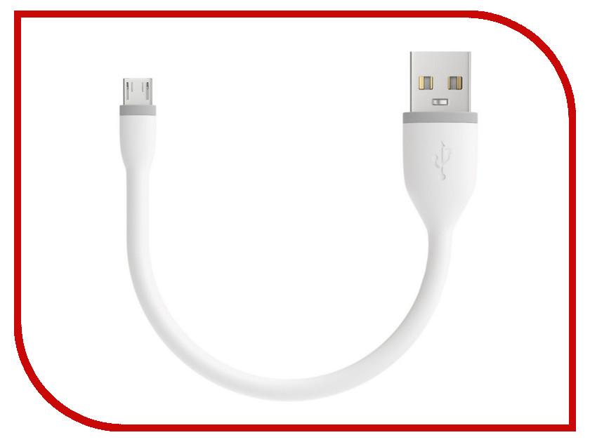 Аксессуар Satechi Flexible Micro - USB 15cm White ST-FCM6W аксессуар satechi flexible micro usb 25cm black st fcm10b