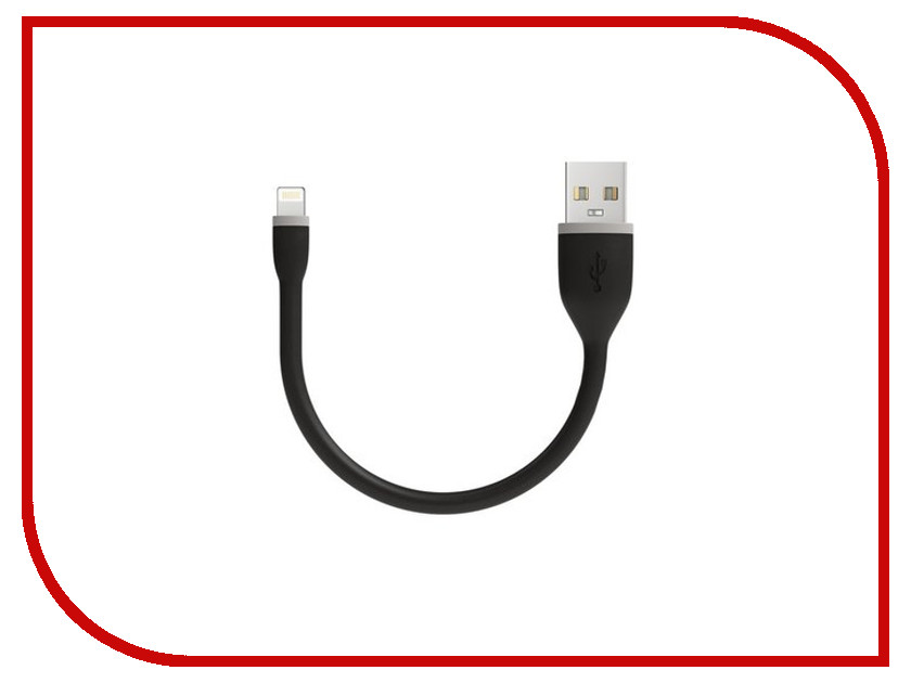 Аксессуар Satechi Flexible Lightning - USB 15cm Black ST-FCL6B аксессуар satechi flexible micro usb 25cm black st fcm10b