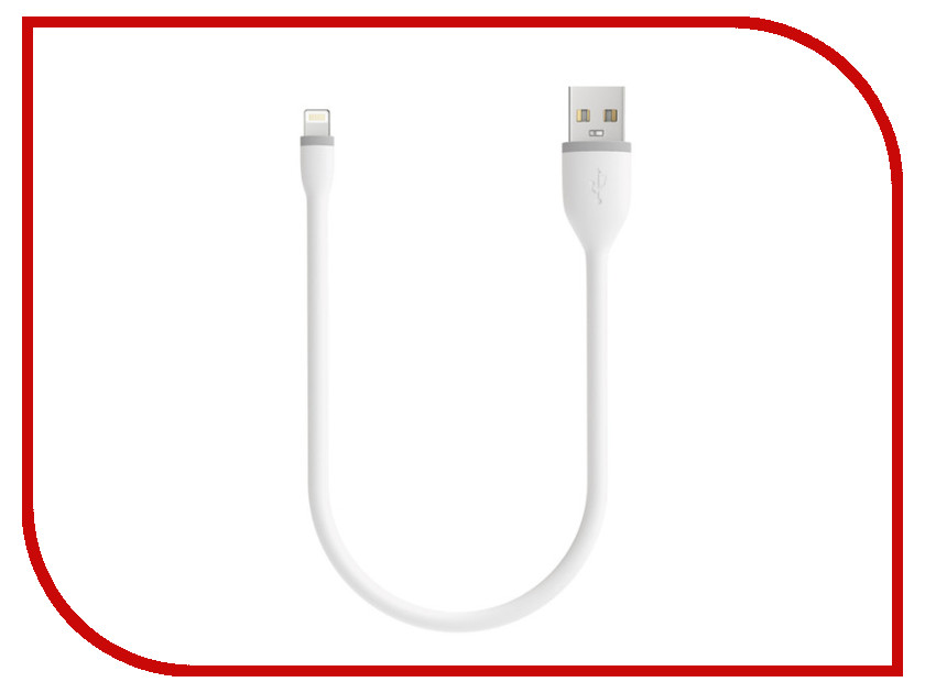 Аксессуар Satechi Flexible Lightning - USB 25cm White ST-FCL10W аксессуар satechi flexible micro usb 25cm black st fcm10b