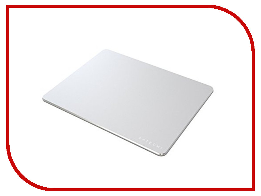 Коврик Satechi Aluminum Mouse Pad Silver ST-AMPAD uitrafire 504b aluminum alloy replacement case for flashlight silver