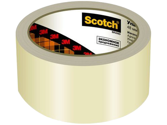 Клейкая лента 3M Scotch 48m x 50m Transparent A2J