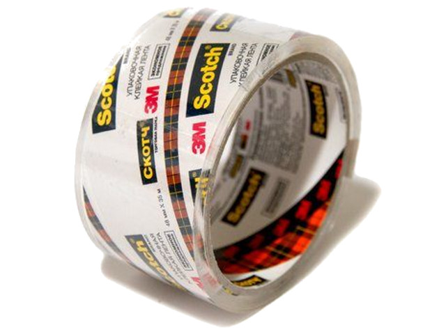 Клейкая лента 3M Scotch 48mm x 35m Transparent N2J