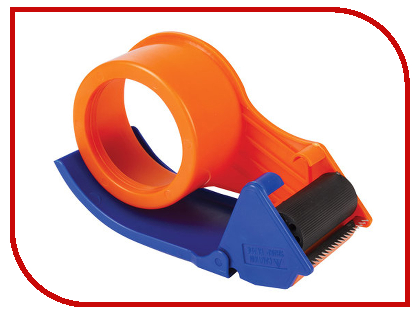 Диспенсер-улитка для клейкой упаковочной ленты Staff 440123 диспенсер для клейкой ленты цвет синий 50 мм