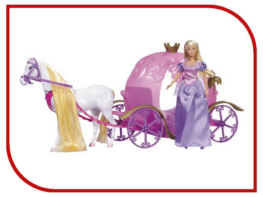 Кукла Simba Штеффи и ее сказочная карета 86415 / 5733974 simba simba машинка hello kitty