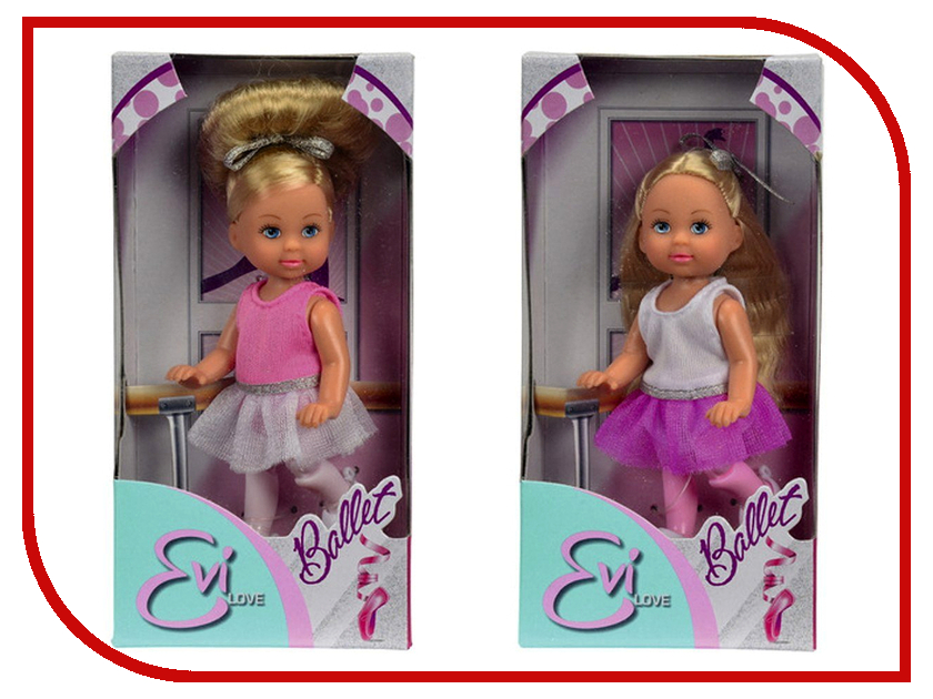 Кукла Simba Еви Балерина 105666 / 5730947 simba пупс minnie mouse