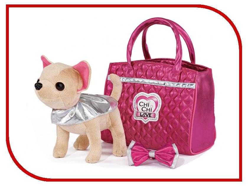 Игрушка Simba Chi chi love Чихуахуа Гламур с розовой сумочкой 20 см chi chi love мягкая игрушка фруктовая мода