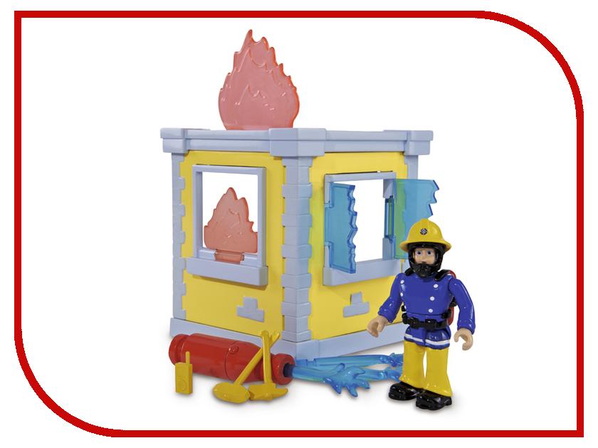 Игровой набор Simba Пожарный Сэм Маленькая тренировочная база 247813 / 9251052 simba simba оружие игрушечное игровой набор полицейский патруль