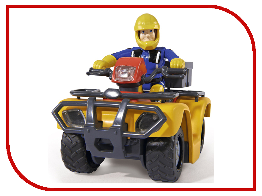 Игрушка Simba Квадроцикл Пожарный Сэм 247786 / 9251058 simba водный пистолет simba пожарный сэм 17см