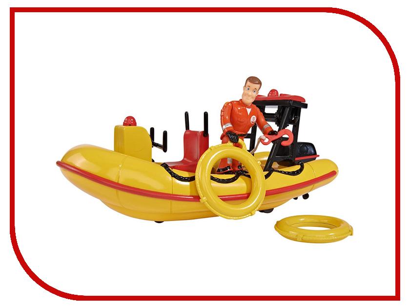Игрушка Simba Пожарный Сэм Лодка спасателей 247674 / 9251660 simba пупс minnie mouse