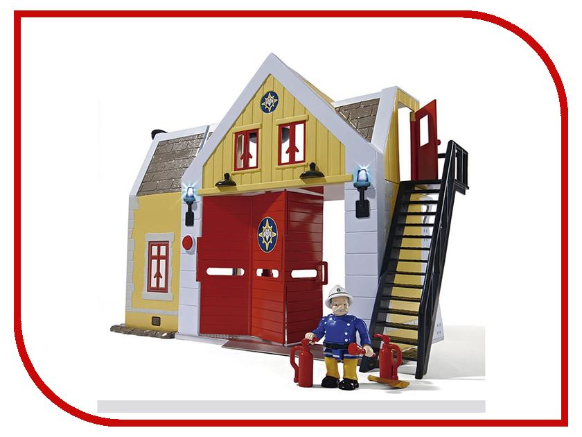 Кукольный домик Simba Пожарный Сэм Пожарная станция 247599 / 9251062 набор машин пожарный сэм