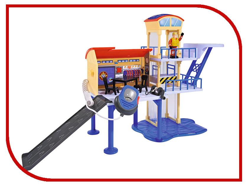Simba Пожарный Сэм Морская станция 233833 / 9251663 simba пожарный сэм фигурка морская станция свет звук акс 6 6