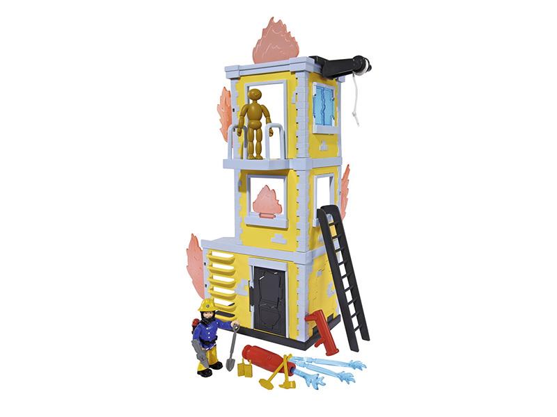 Simba Fireman Sam Большая тренировочная база 9251053/9257652