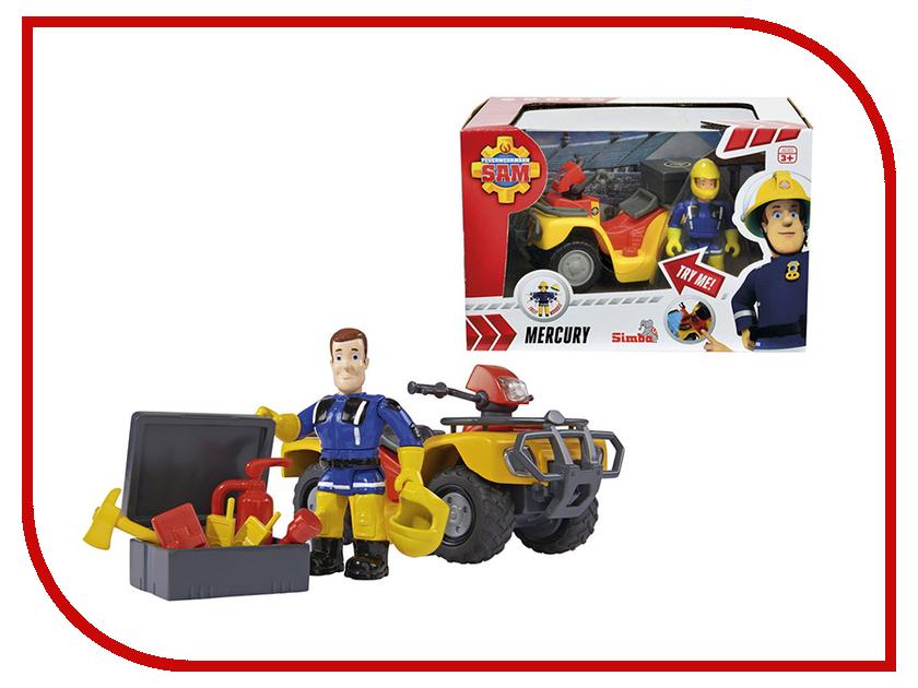 Игрушка Simba Квадроцикл Пожарный Сэм 314286 / 9257657 autogrand квадроцикл sport пожарный