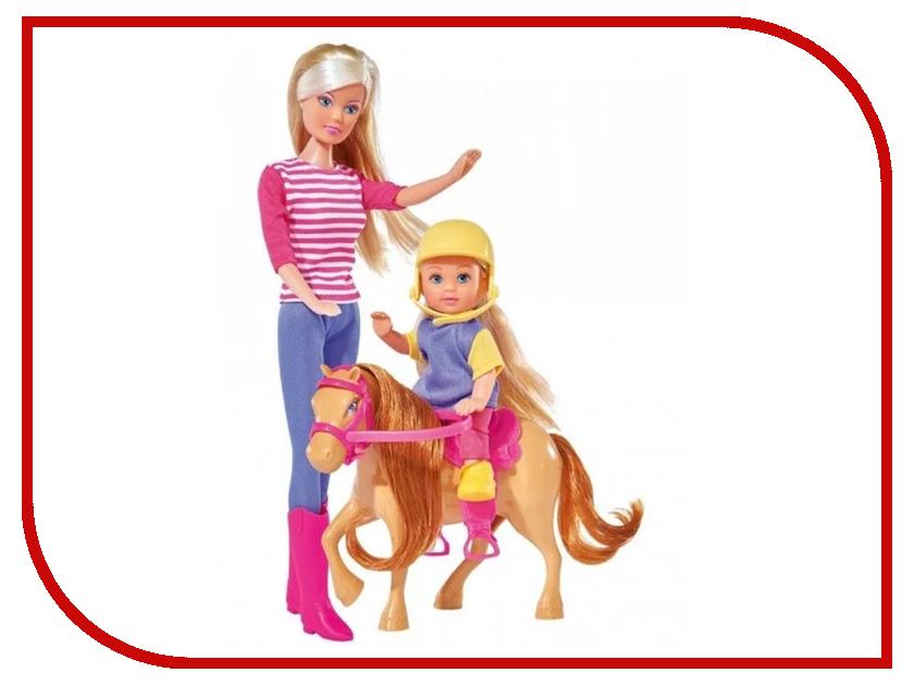 Кукла Simba Штеффи и Еви Horse Training 332837 / 5738051