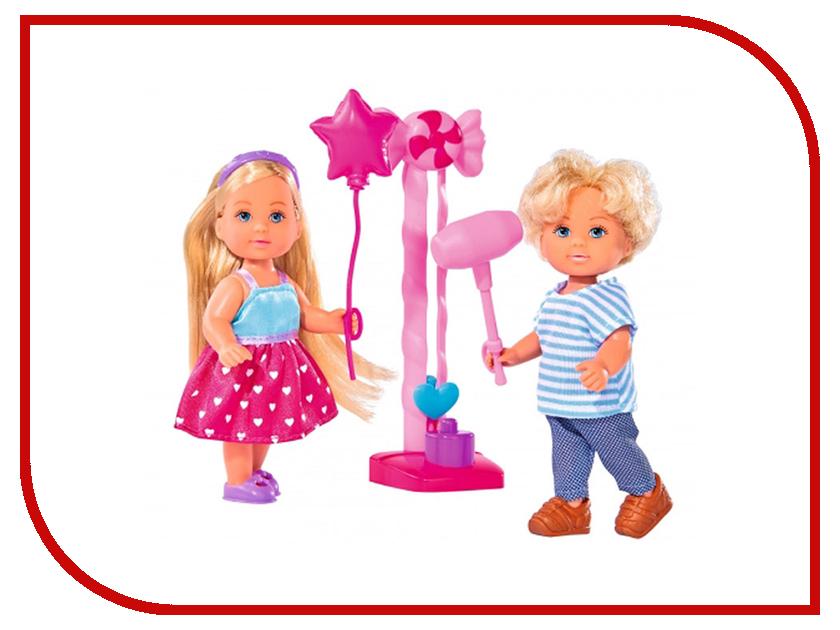Кукла Simba Еви и Тимми на аттракционах 344461 / 5738059 куклы и одежда для кукол simba кукла еви и тимми на аттракционах 12 cм