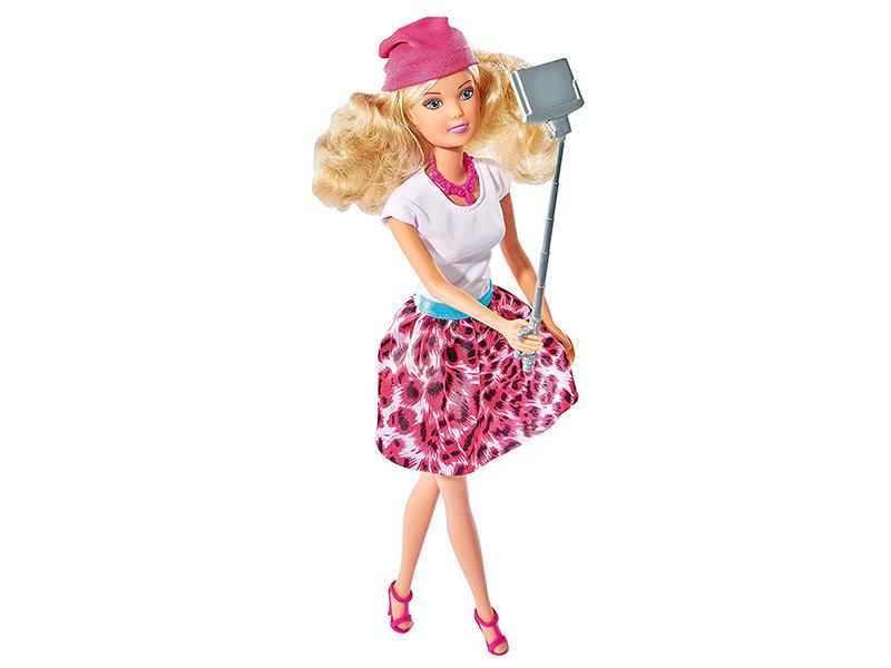 Кукла Simba Штеффи с селфи-палкой 346125 / 5738049 simba abc машинка с пультом