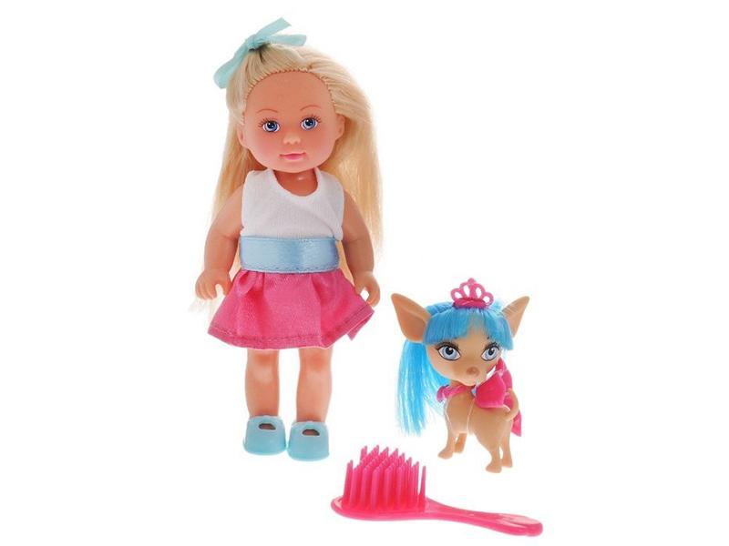 цена на Кукла Simba Еви со стильной собачкой 358178 / 5730944