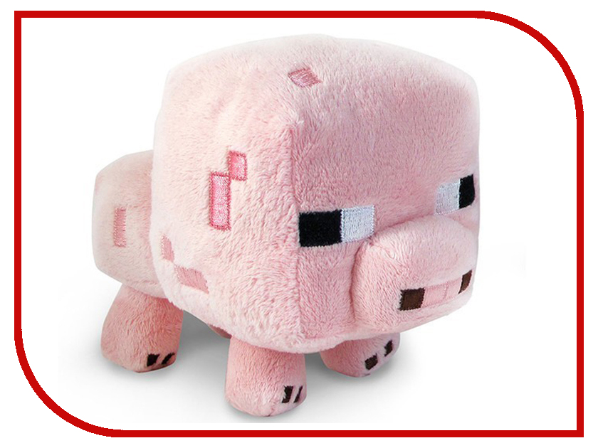 Игрушка Minecraft Baby Pig 18cm 16526 baby girl s comfy cute cartoon pig style hand knitted warm gorro hat pink black