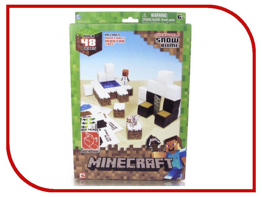 Конструктор Minecraft Papercraft Игровой мир Снежный биом 48 дет. 16712 корм для кошек kitekat пауч курица в желе 85г