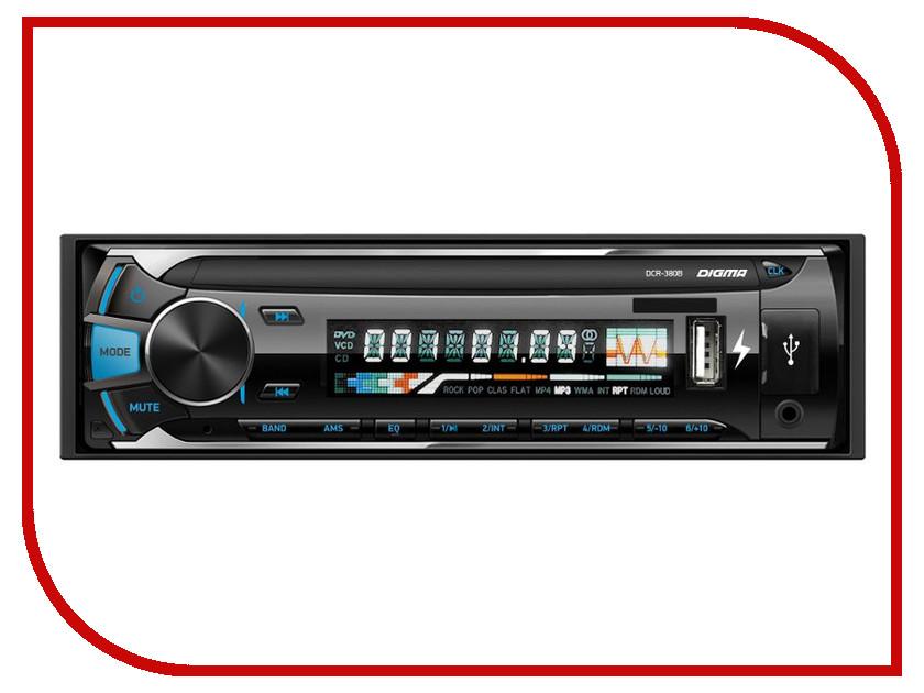 Автомагнитола Digma DCR-380B автомагнитола digma dcr 310b