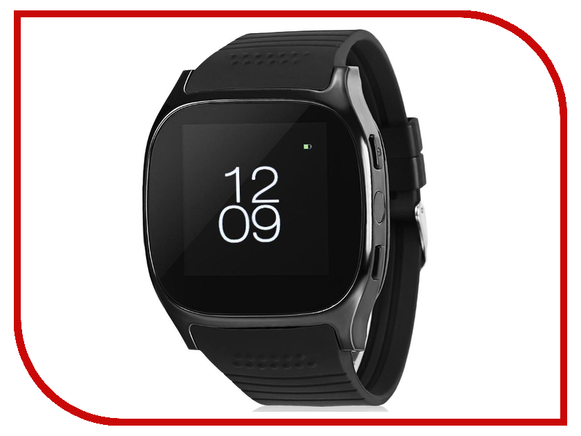 Умные часы ZDK T8M Black умные часы xiaomi amazfit watch band black pace smartwatch black