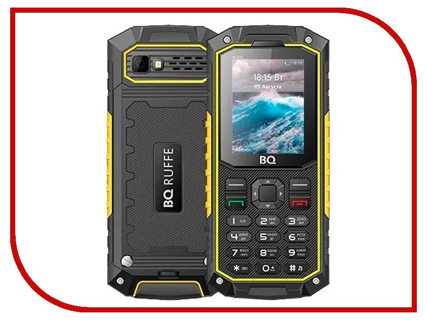 Сотовый телефон BQ BQ-2205 Ruffe Black-Yellow сотовый телефон bq 1807 step black